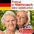 Praca  w charakterze Opiekunki osób starszych, 1250 euro/miesiąc.